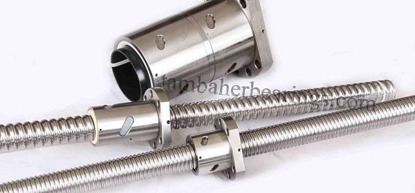 انواع بال اسکرو مخصوصا بال اسکرو باهر میتواند سیستم حرکت چرخشی را به حرکت خطی ball screw تبدیل کند.