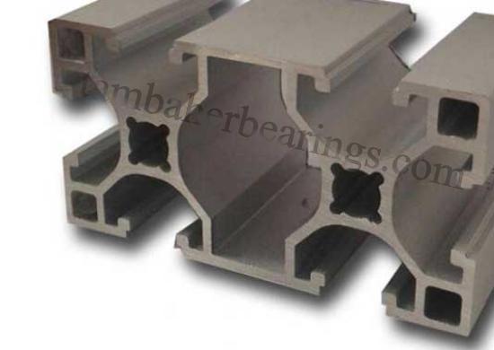 پروفیل آلومینیوم شیاردار80 ×40