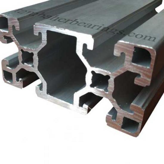 پروفیل آلومینیوم شیاردار 90×45 سنگین